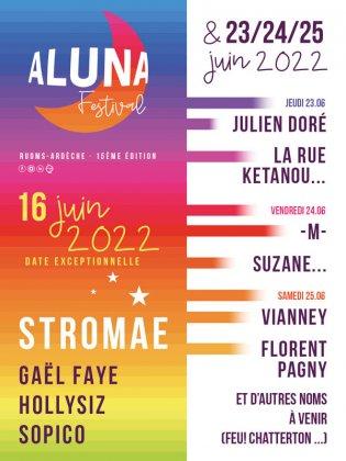 ALUNA FESTIVAL 15E EDITION