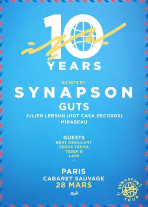 SYNAPSON 10 YEARS