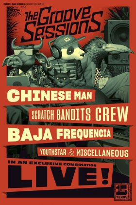CHINESE MAN + SCRATCH BANDITS CREW