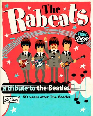 THE RABEATS-HOMMAGE AUX BEATLES