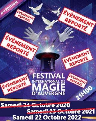FESTIVAL DE MAGIE D'AUVERGNE