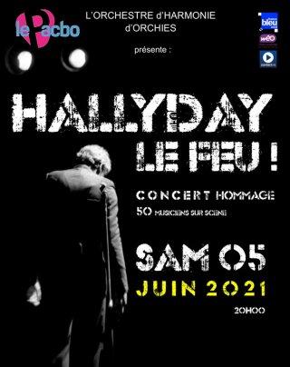 HALLYDAY LE FEU !