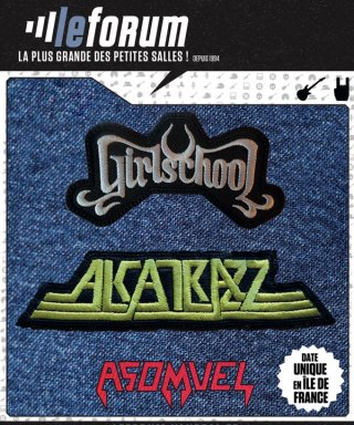 GIRLSCHOOL ET ALKATRAZZ