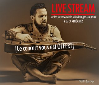 WILL BARBER - EN LIVE STREAM