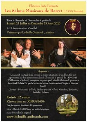 Concert Spectacle Sand et Chopin, Le Duo Mythique ,