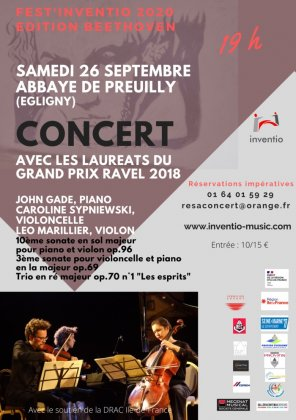 Concert : Lauréats Grand Prix Ravel