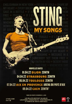 "Sting ""My Songs"""