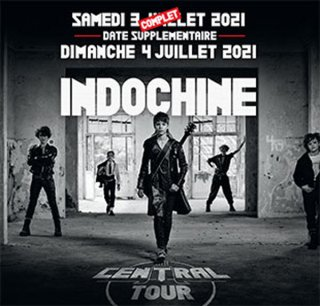 INDOCHINE : BUS AMIENS + PELOUSE