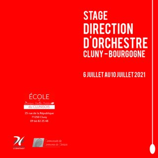 Stage direction d'orchestre