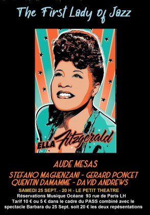 THE FIRST LADY OF JAZZ -Hommage à Ella Fitzgerald -