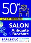 50e salon antiquité brocante de bar le duc